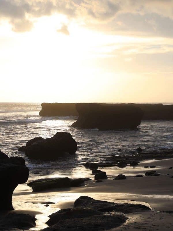 Sunset echo beach canggu Bali