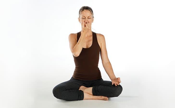 pranayama nadi shodana alternate nostril breathing
