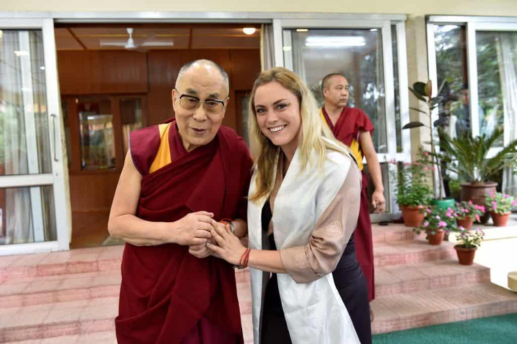 meeting with the Dalai Lama