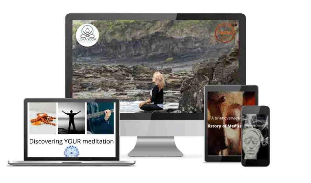 online meditation training