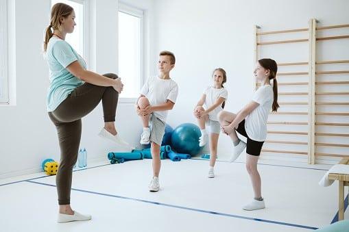 Kids Yoga Teacher Tarinaing