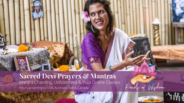 Sacred Devi Prayers Mantras